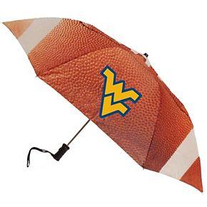 West Virginia Mountaineers Football Folding Umbrella