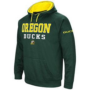 Men's Colosseum Green Oregon Ducks Performance Pullover Hoodie