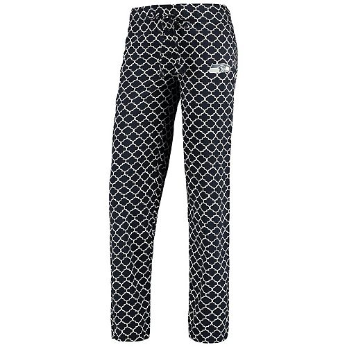Women's Concepts Sport College Navy/White Seattle Seahawks Slumber Sleep Pajama Pants