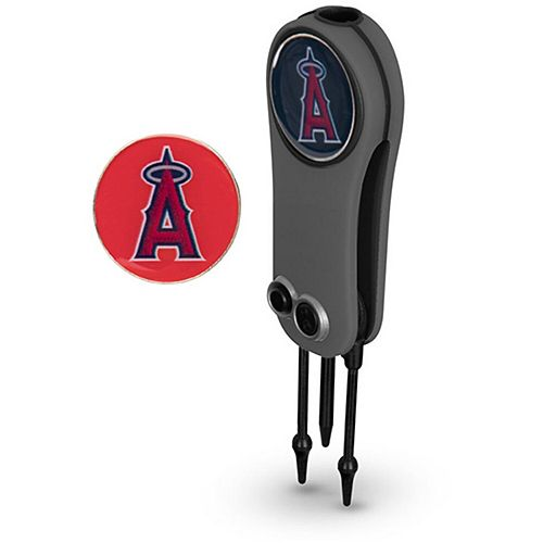 Los Angeles Angels Switchblade Repair Tool & Two Ball Markers