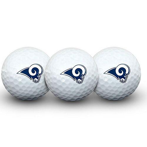 Los Angeles Rams Pack of 3 Golf Balls