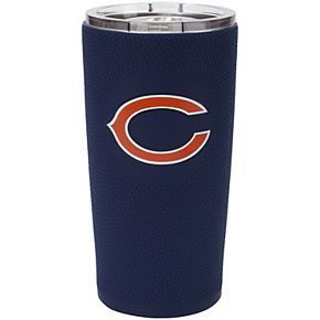 Chicago Bears 20oz. Stainless Steel with 3D Silicone Tumbler