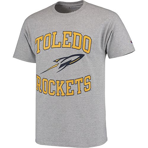 Men's Champion Gray Toledo Rockets Tradition T-Shirt