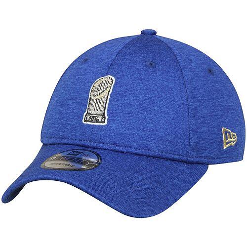 Men's New Era Kyle Schwarber Heathered Royal Chicago Cubs Player Designed Program 9TWENTY Adjustable Hat