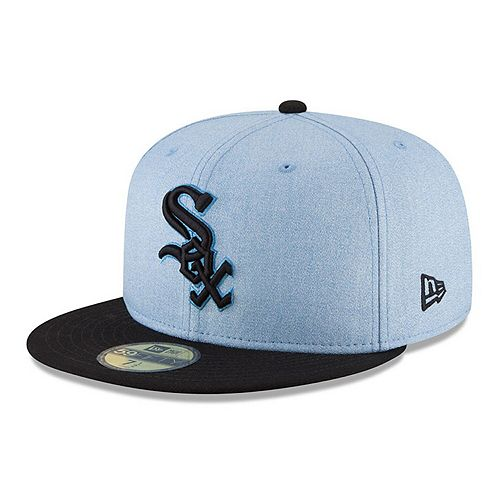 Men's New Era Light Blue Chicago White Sox 2018 Father's Day On Field 59FIFTY Fitted Hat