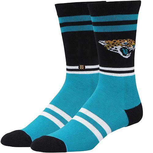 Men's Stance Jacksonville Jaguars Logo Crew Socks