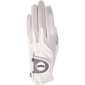 Women's White San Francisco Giants Left Hand Golf Glove & Ball Marker