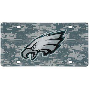 Philadelphia Eagles Digi Camo Laser Cut License Plate
