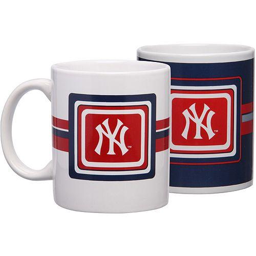New York Yankees 11oz. Two-Pack Mug Set