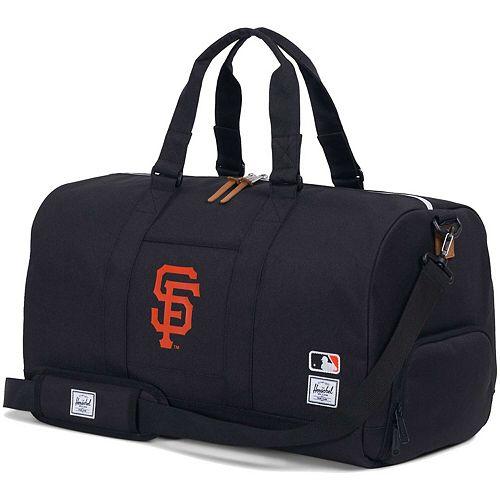 Herschel Supply Co. Black San Francisco Giants Novel Duffle Bag