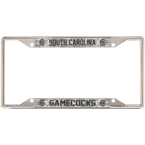 South Carolina Gamecocks Digital Camo Acrylic Inlay License Plate Frame