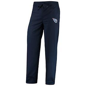 Men's Concepts Sport Navy Tennessee Titans Scrub Pants