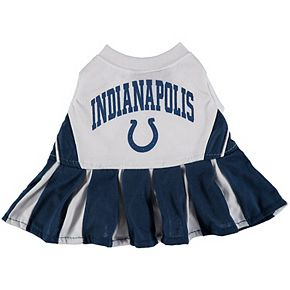Indianapolis Colts Cheerleader Pet Outfit