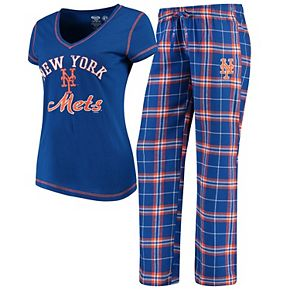 Women's Concepts Sport Royal New York Mets Duo Pants & Top Set