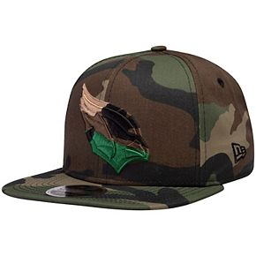 Men's New Era Arizona Cardinals Tonal Woodland Camo Capped 9FIFTY Adjustable Hat