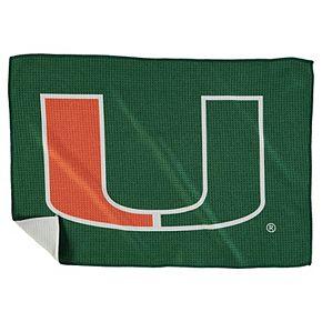 "Miami Hurricanes 16"" x 24"" Microfiber Towel"