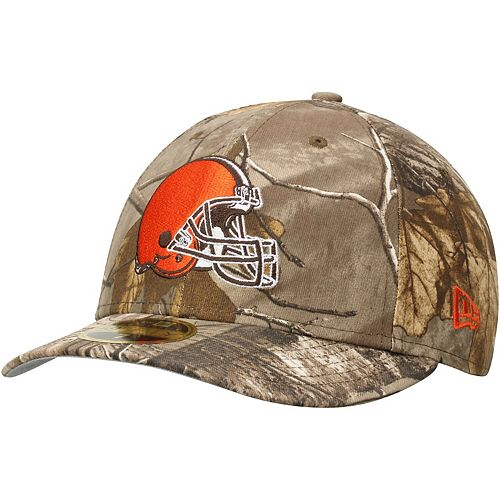 Men's New Era Realtree Camo Cleveland Browns Low Profile 59FIFTY Hat