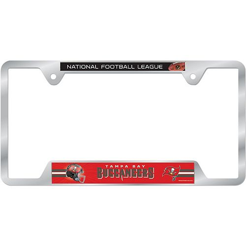 WinCraft Tampa Bay Buccaneers License Plate Frame