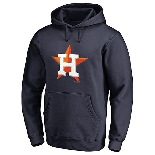Men's Fanatics Branded Navy Houston Astros Primary Logo Pullover Hoodie