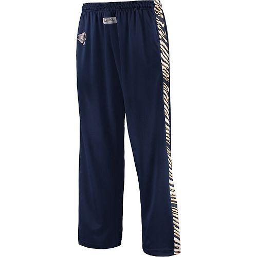 Men's Zubaz Navy/Gold Los Angeles Rams Stadium Pants