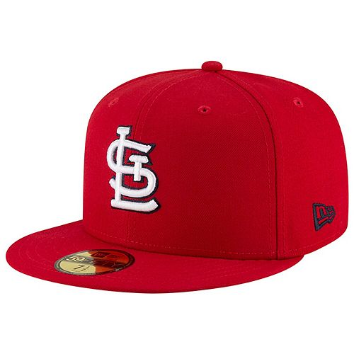 Men's New Era Red St. Louis Cardinals Team Superb 59FIFTY Fitted Hat