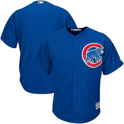 Men's Majestic Royal Chicago Cubs Alternate Big & Tall Cool Base Team Jersey