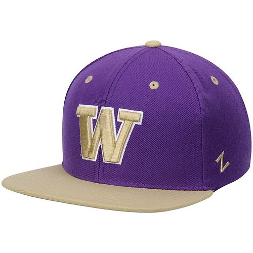 Men's Zephyr Purple Washington Huskies Z11 Snapback Adjustable Hat