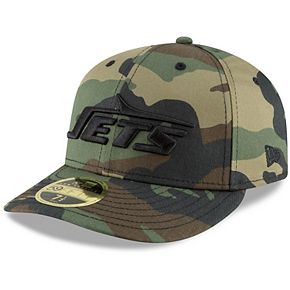 Men's New Era Camo New York Jets Team Low Profile 59FIFTY Fitted Hat