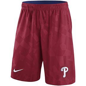 Men's Nike Red Philadelphia Phillies Knit Shorts