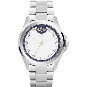 Men's Baltimore Ravens Legacy Stainless Steel 3 Hand Watch