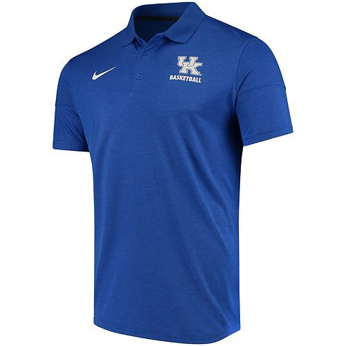 Men's Nike Royal Kentucky Wildcats Collegiate Varsity Performance Polo