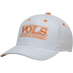 Men's The Game White Tennessee Volunteers Classic Bar Adjustable Snapback Hat