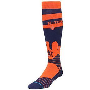 Men's Stance Navy Houston Astros Diamond Pro OTC Socks