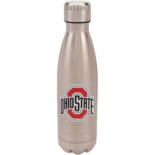 Ohio State Buckeyes 16oz. Stainless Steel Water Bottle