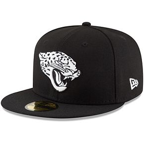 Men's New Era Black Jacksonville Jaguars B-Dub 59FIFTY Fitted Hat
