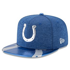 Men's New Era Royal Indianapolis Colts 2017 NFL Draft On Stage Original Fit 9FIFTY Snapback Adjustable Hat