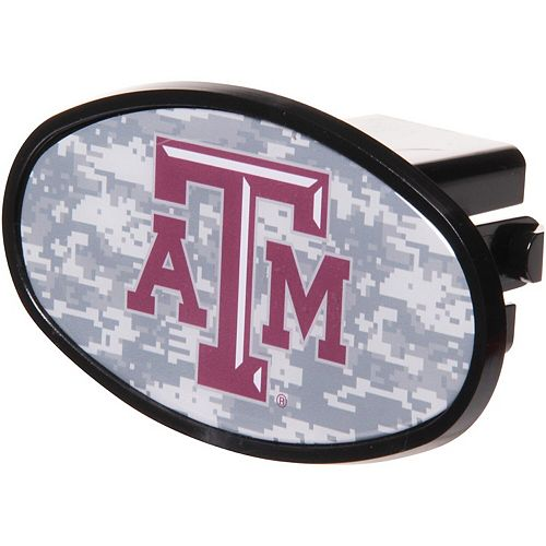 "Texas A&M Aggies Plastic Oval Fixed 2"" Digi Camo Hitch Receiver"