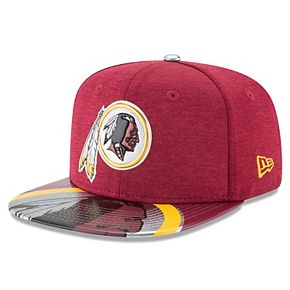 Youth New Era Burgundy Washington Redskins 2017 NFL Draft On Stage Original Fit 9FIFTY Snapback Adjustable Hat