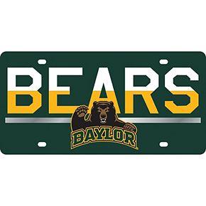 Baylor Bears DuoTone Color Acrylic License Plate