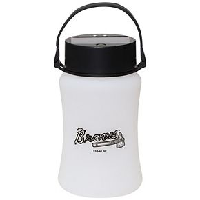Atlanta Braves Frosted Silicone Solar Lantern