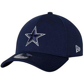 Men's New Era Navy Dallas Cowboys Training Mesh 39THIRTY Flex Hat