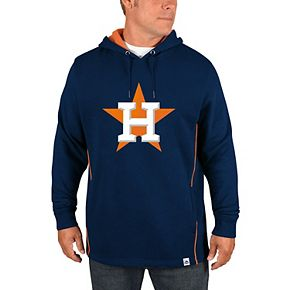 Men's Majestic Navy Houston Astros Lefty/Righty Pullover Hoodie