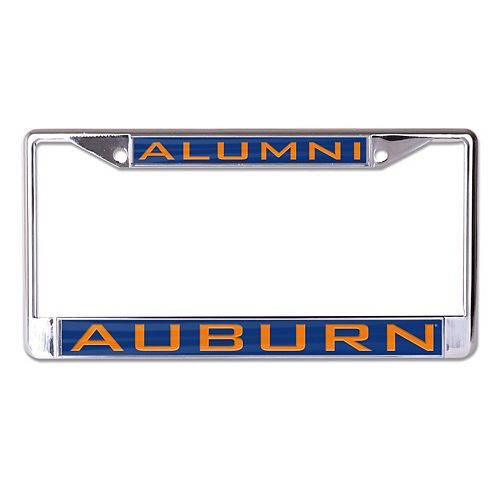 WinCraft Auburn Tigers Alumni Inlaid Metal License Plate Frame