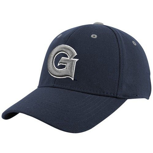 Top of the World Georgetown Hoyas Youth Navy Blue Basic Logo 1Fit Hat