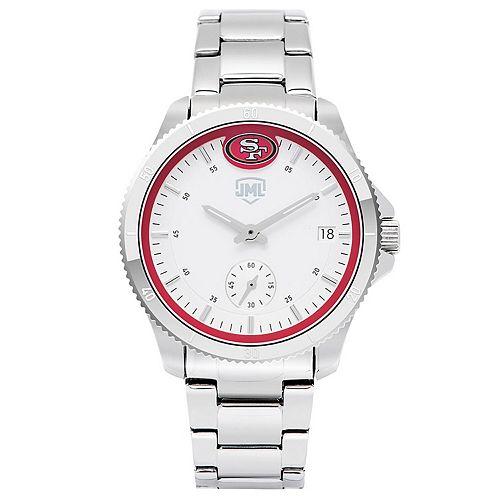 Women's  San Francisco 49ers Legacy 3 Hand Watch