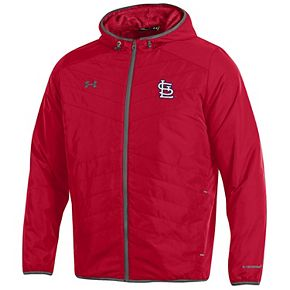 Men's Under Armour Red St. Louis Cardinals Performance Full-Zip Jacket