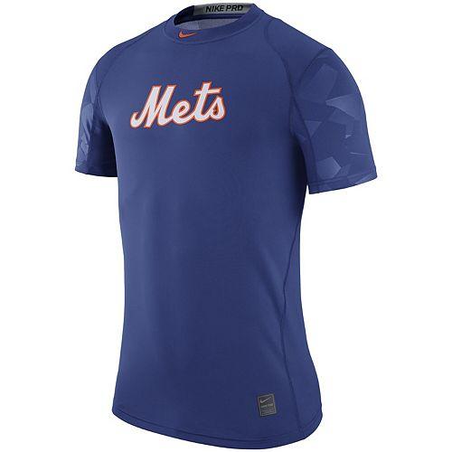 Men's Nike Royal New York Mets Pro Cool Performance T-Shirt