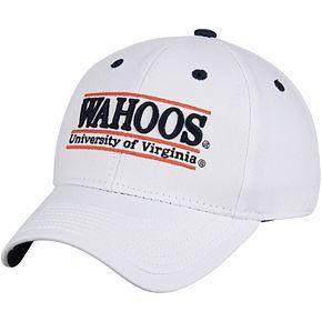 Men's The Game White Virginia Cavaliers Classic Bar Adjustable Hat