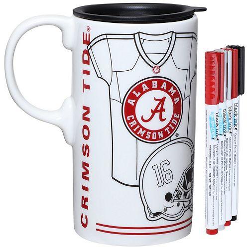 Alabama Crimson Tide Just Add Color Tall Boy Mug