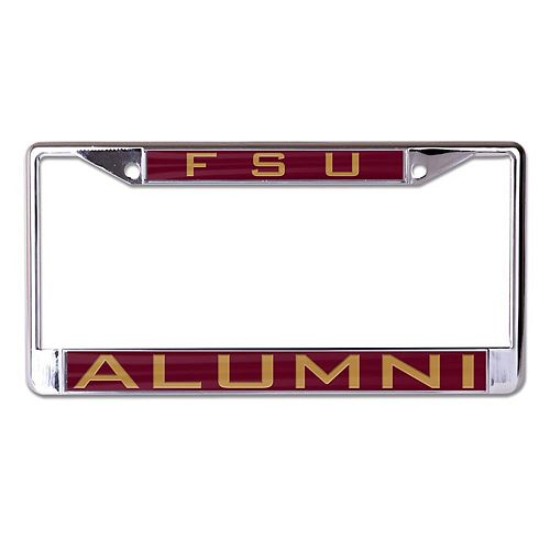 WinCraft Florida State Seminoles Alumni Inlaid Metal License Plate Frame